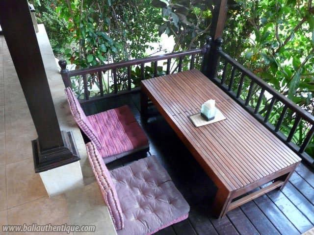 hotel bali amed terrasse