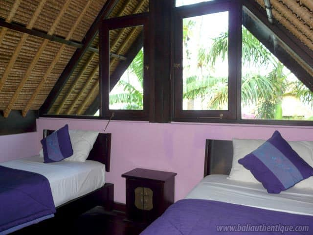 hotel bali amed twin bed