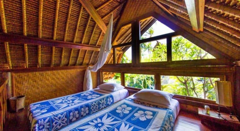 hotel Bali Amed lits jumeaux
