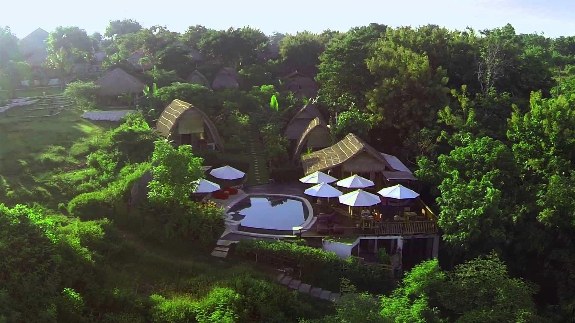 hotel Bali Balangan vue générale