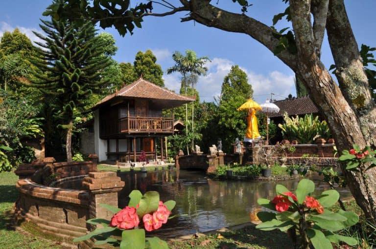 hotel bali banjar cottage jardin