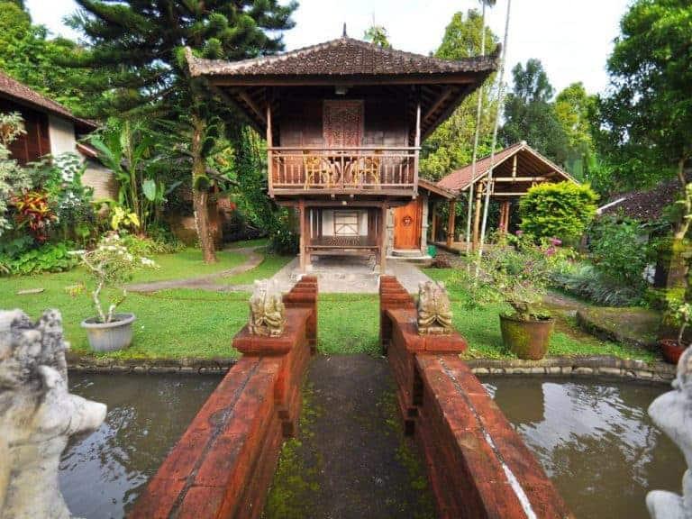 hotel bali banjar cottage parc
