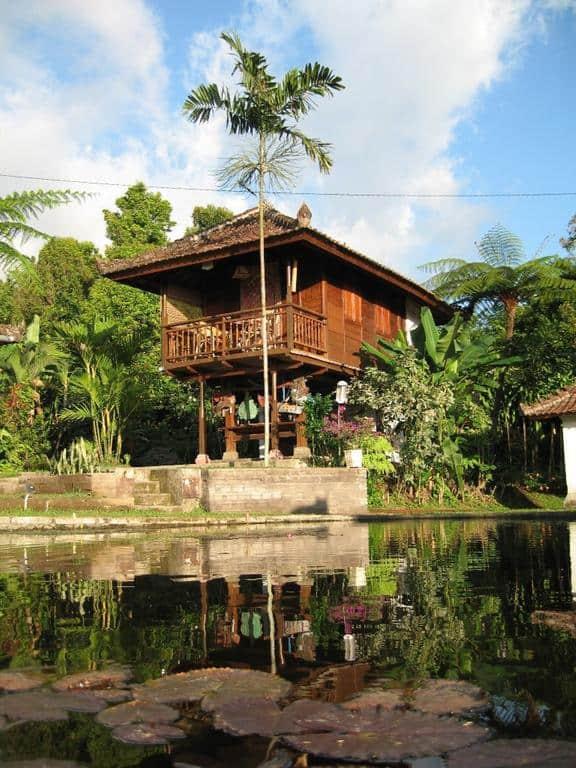 hotel bali banjar cottage paysage