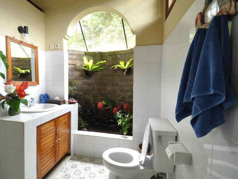 hotel bali banjar cottage salle de bain