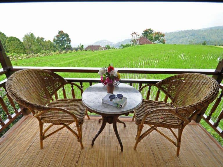 hotel bali banjar cottage terrasse