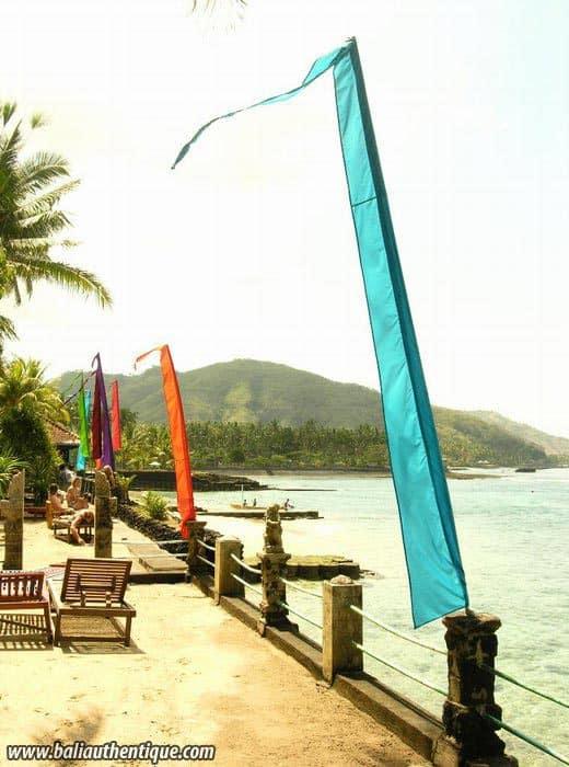 hotel bali candidasa bord de mer