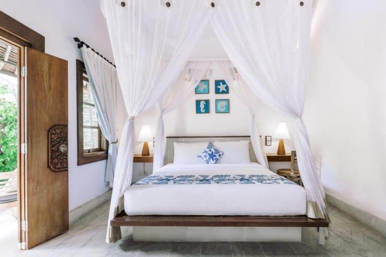 hotel bali candidasa charme chambre