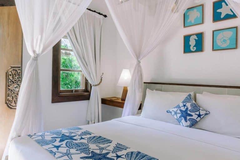 hotel bali candidasa charme romantisme lit