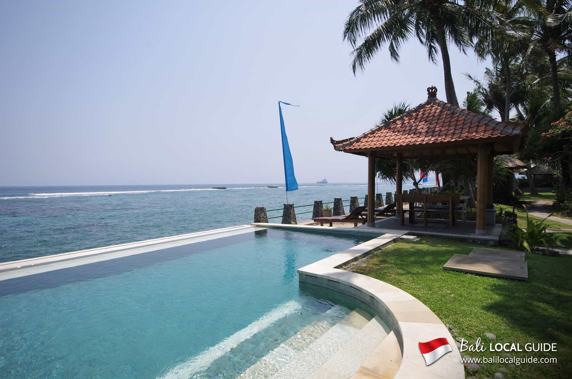 hotel bali candidasa piscine panorama