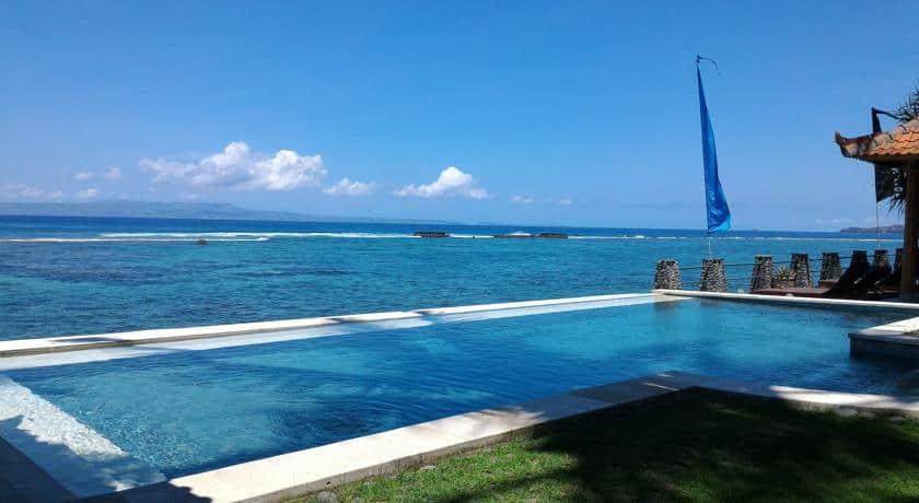 hotel bali candidasa piscine