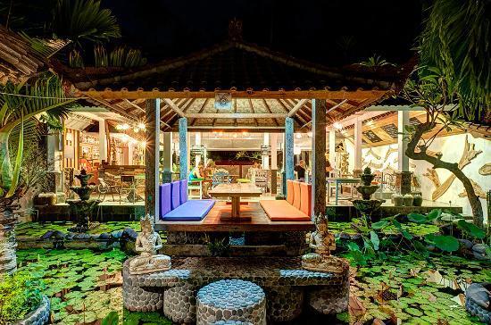 hotel bali candidasa restaurant