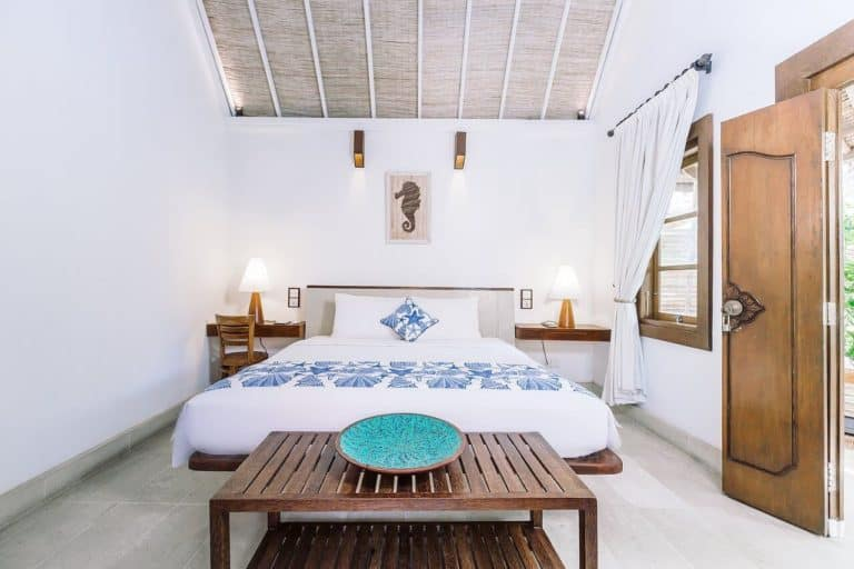 hotel bali candidasa romantisme chambre