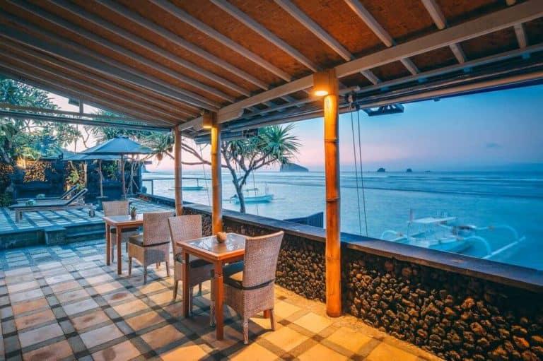 hotel bali candidasa romantisme vue mer