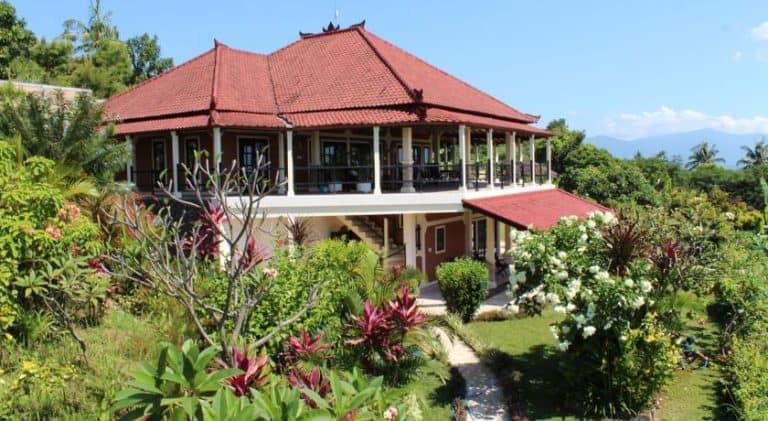 hotel bali Cempaga devanture