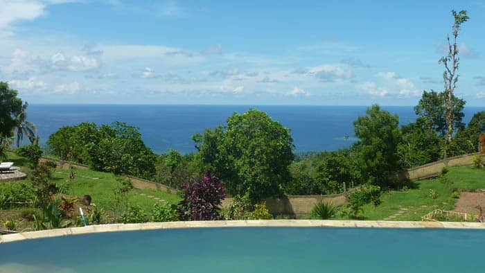 hotel bali Cempaga piscine débordante