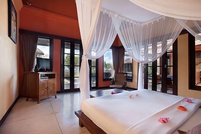 hotel bali gerokgak chambre vue océan