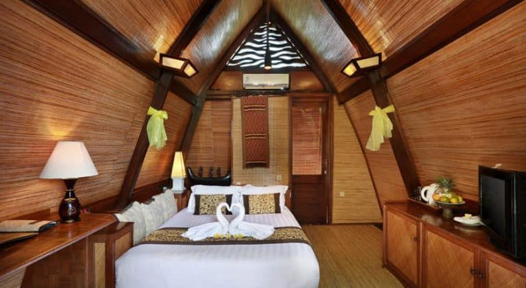 hotel bali gili trawangan villa