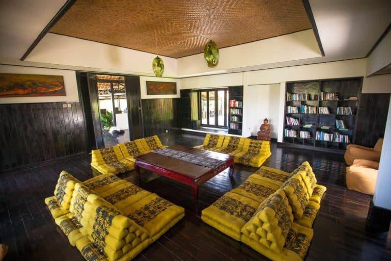 hotel bali indonésie bibliotheque