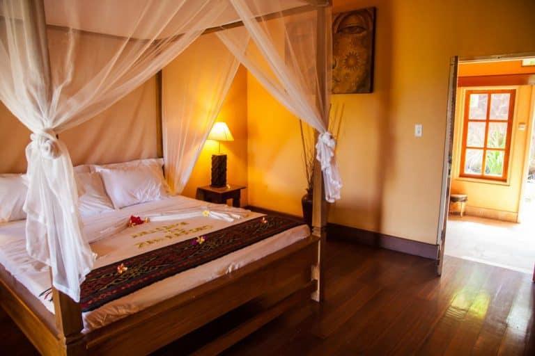 hotel bali indonésie chambre