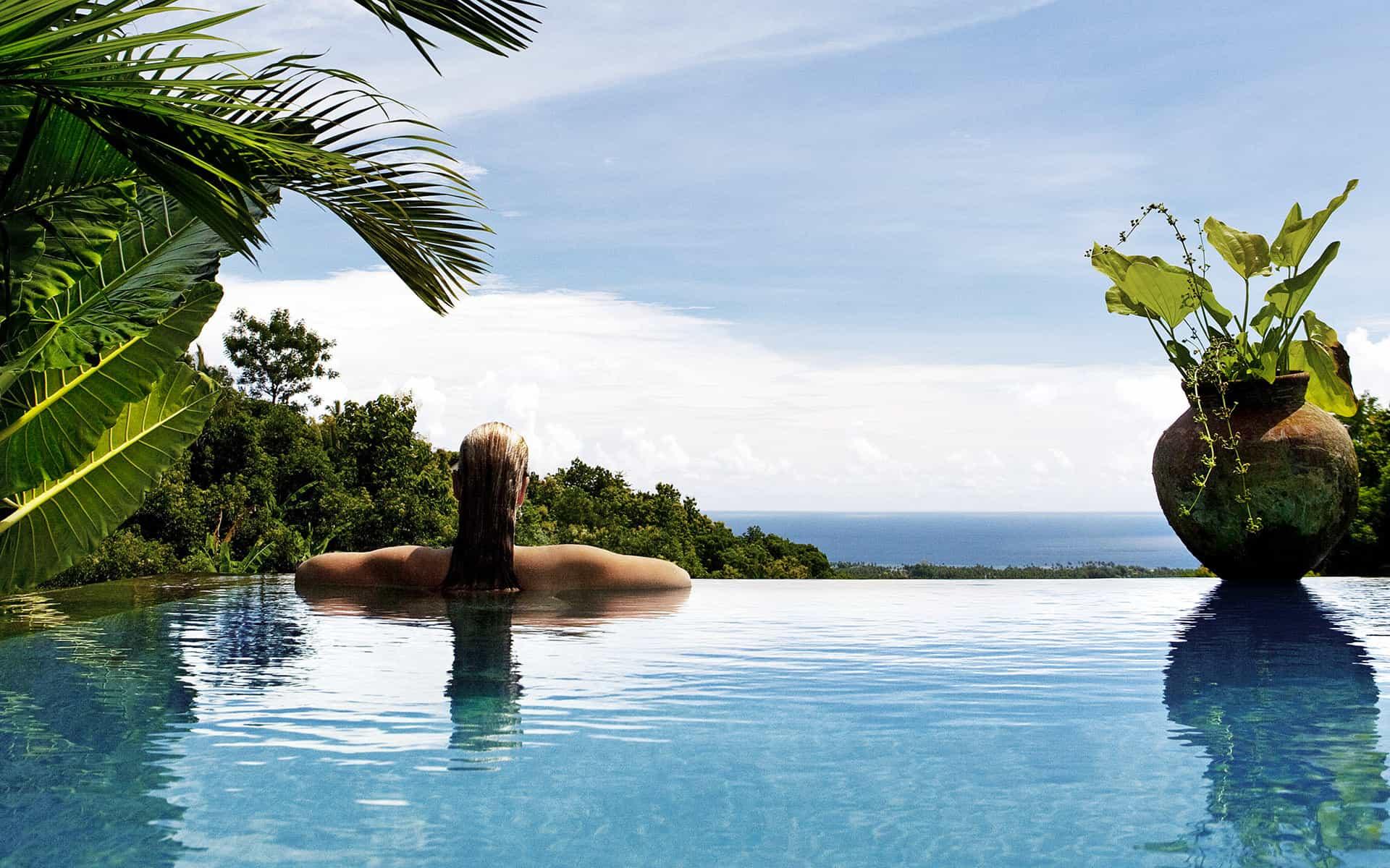 hotel bali indonésie panorama