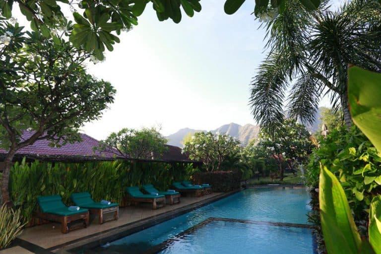 hotel bali indonésie piscine