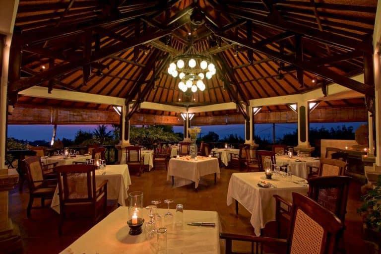 hotel bali indonésie restaurant