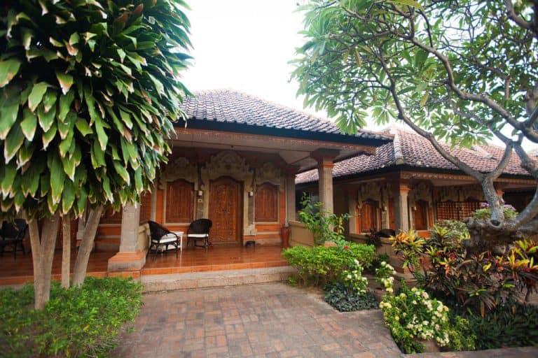 hotel bali indonésie typique