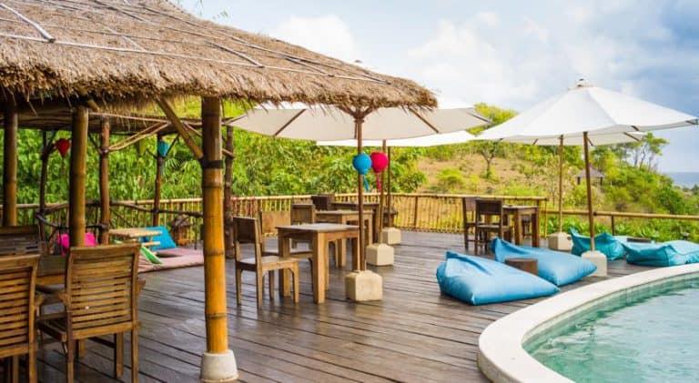 hotel bali jimbaran bar piscine