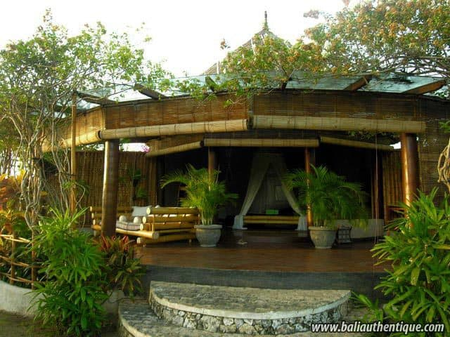 hotel bali jimbaran devanture bungalows
