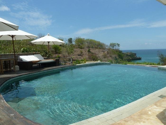 hotel bali jimbaran piscine vue mer