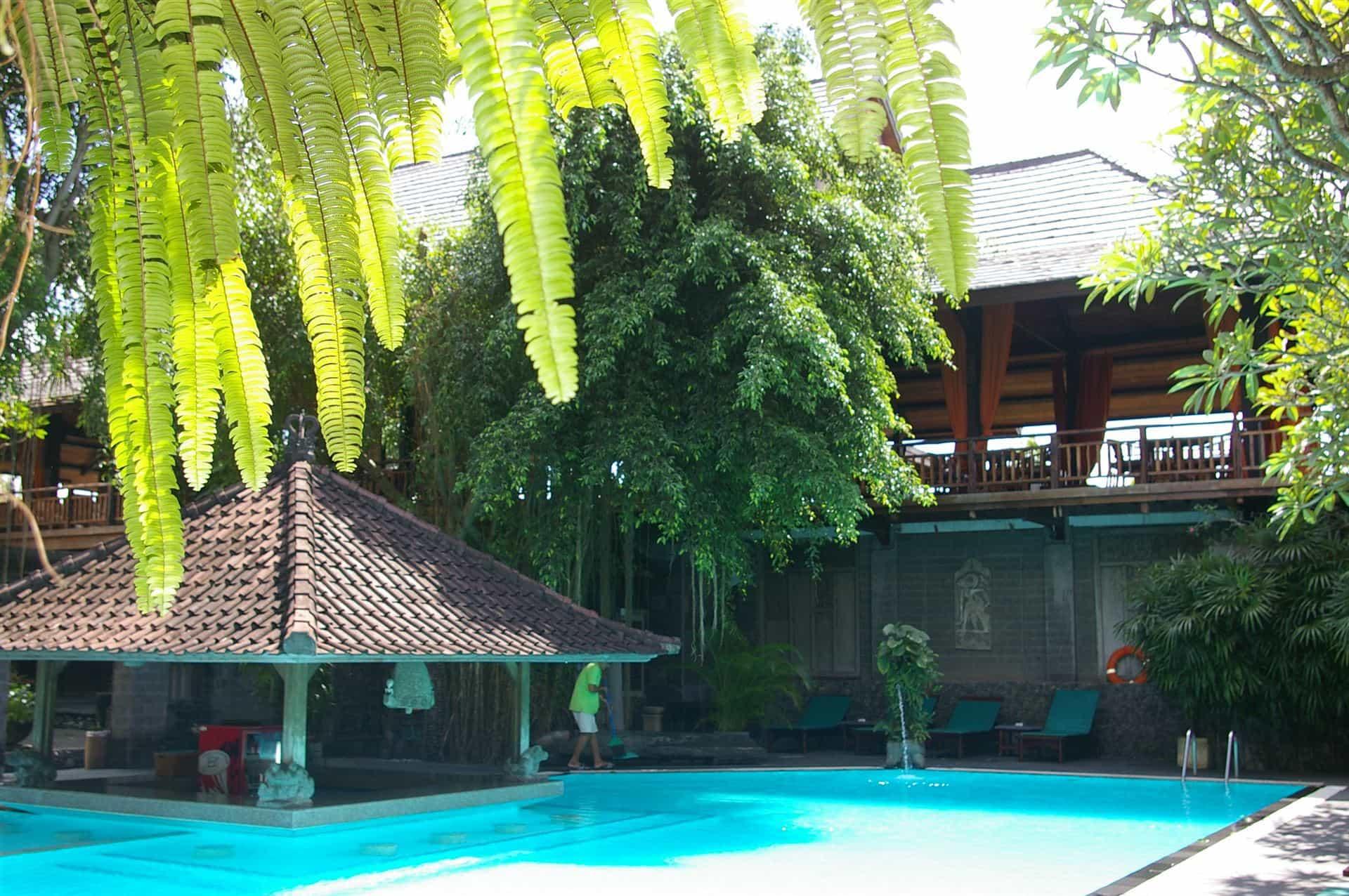 hotel Bali Jimbaran piscine