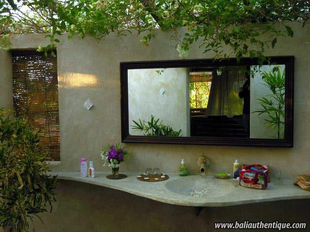 hotel bali jimbaran salle de bain