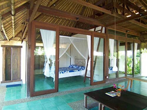 hotel bali karangasem chambre