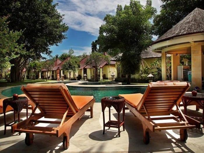 hotel bali kuta lombok piscine