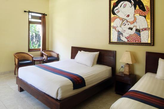 hotel bali kuta lombok twin bed