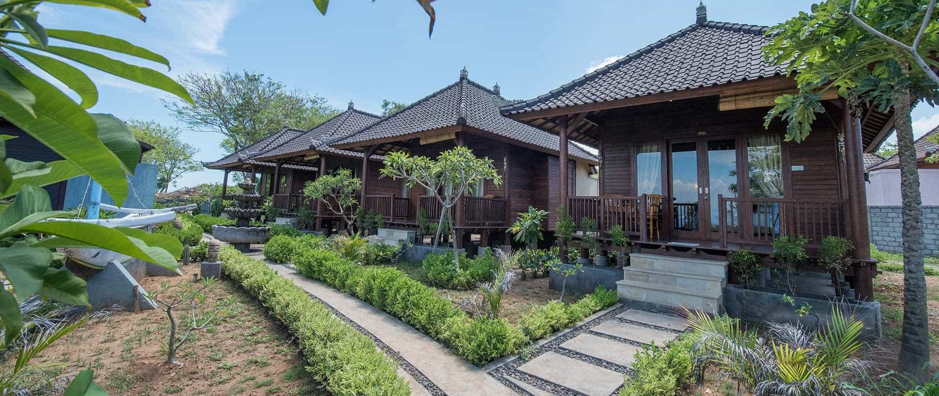 hotel Bali Lembongan bungalow