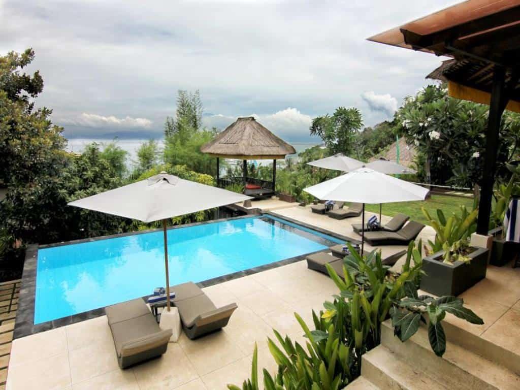 hotel Bali Lembongan vue océan