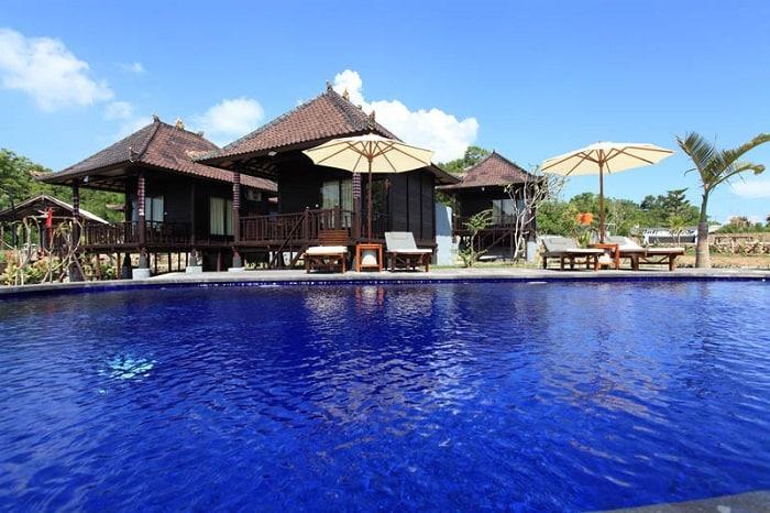 hotel bali lembongan piscine