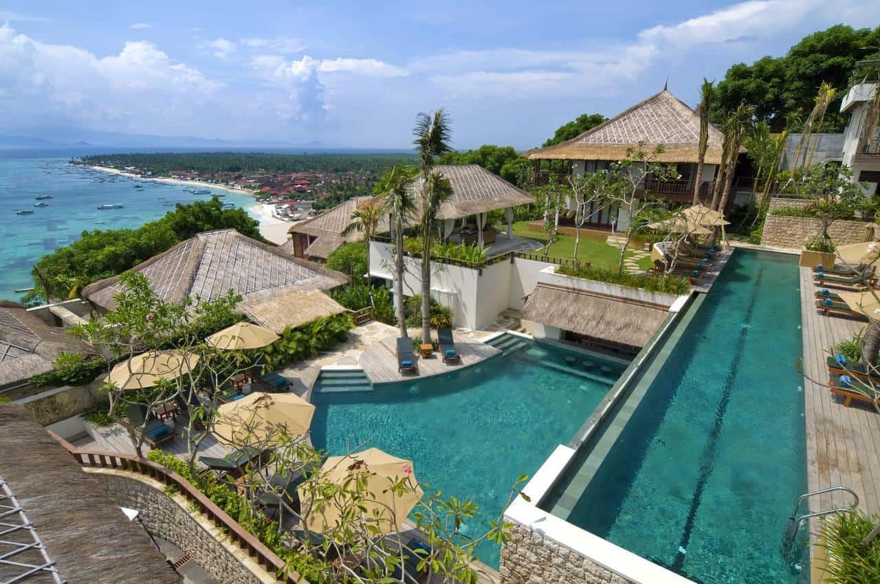 hotel Bali Lemongan vue