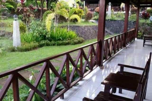 hotel bali lombok terrasse