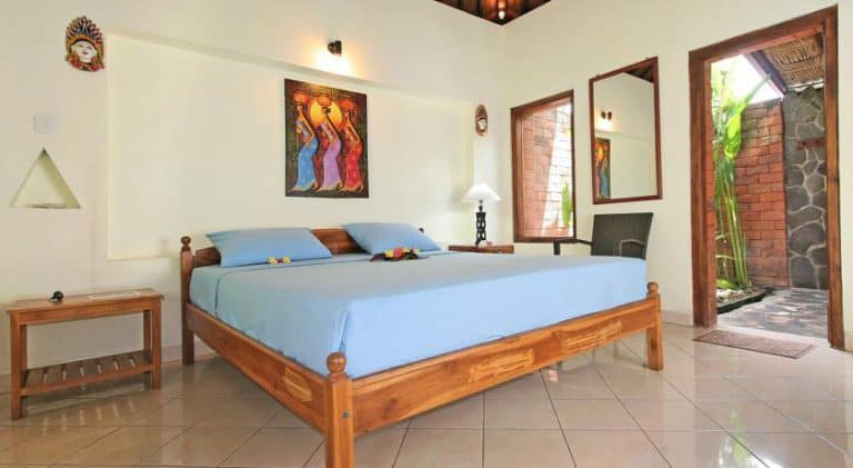 hotel bali lovina chambre double