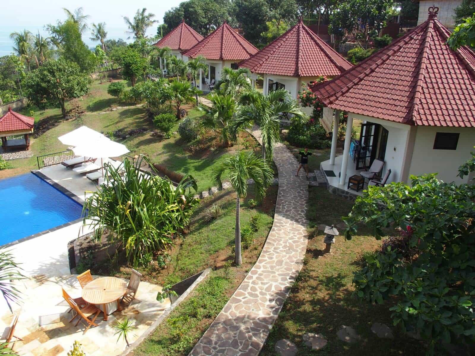 hotel Bali Lovina vue globale