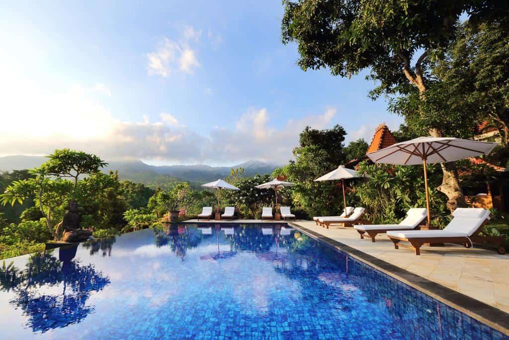 hotel bali lovina panorama piscine repos