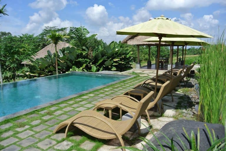 hotel Bali Mengwi nouvelle piscine
