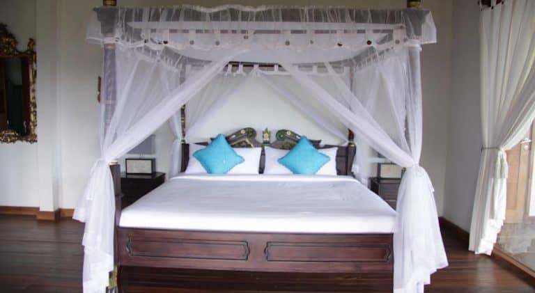 hotel Bali Munduk lit bleu