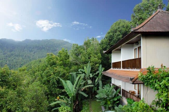 hotel Bali Munduk batîment