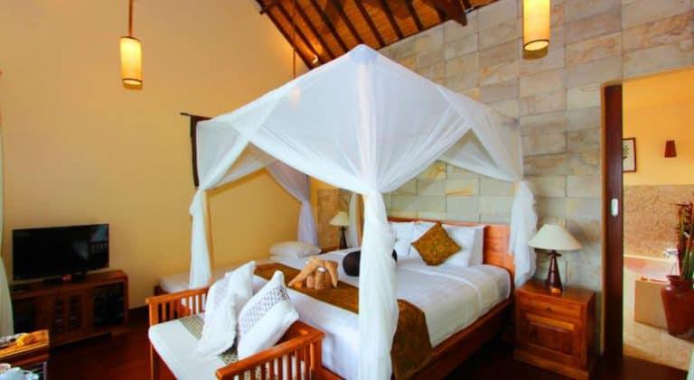 hotel bali munduk chambre double