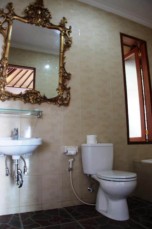 hotel bali munduk salle de bain