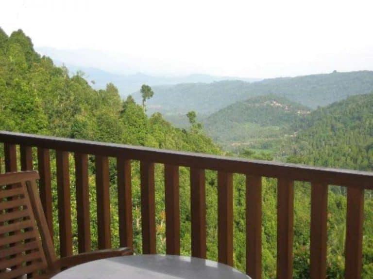 hotel Bali Munduk vue forêt