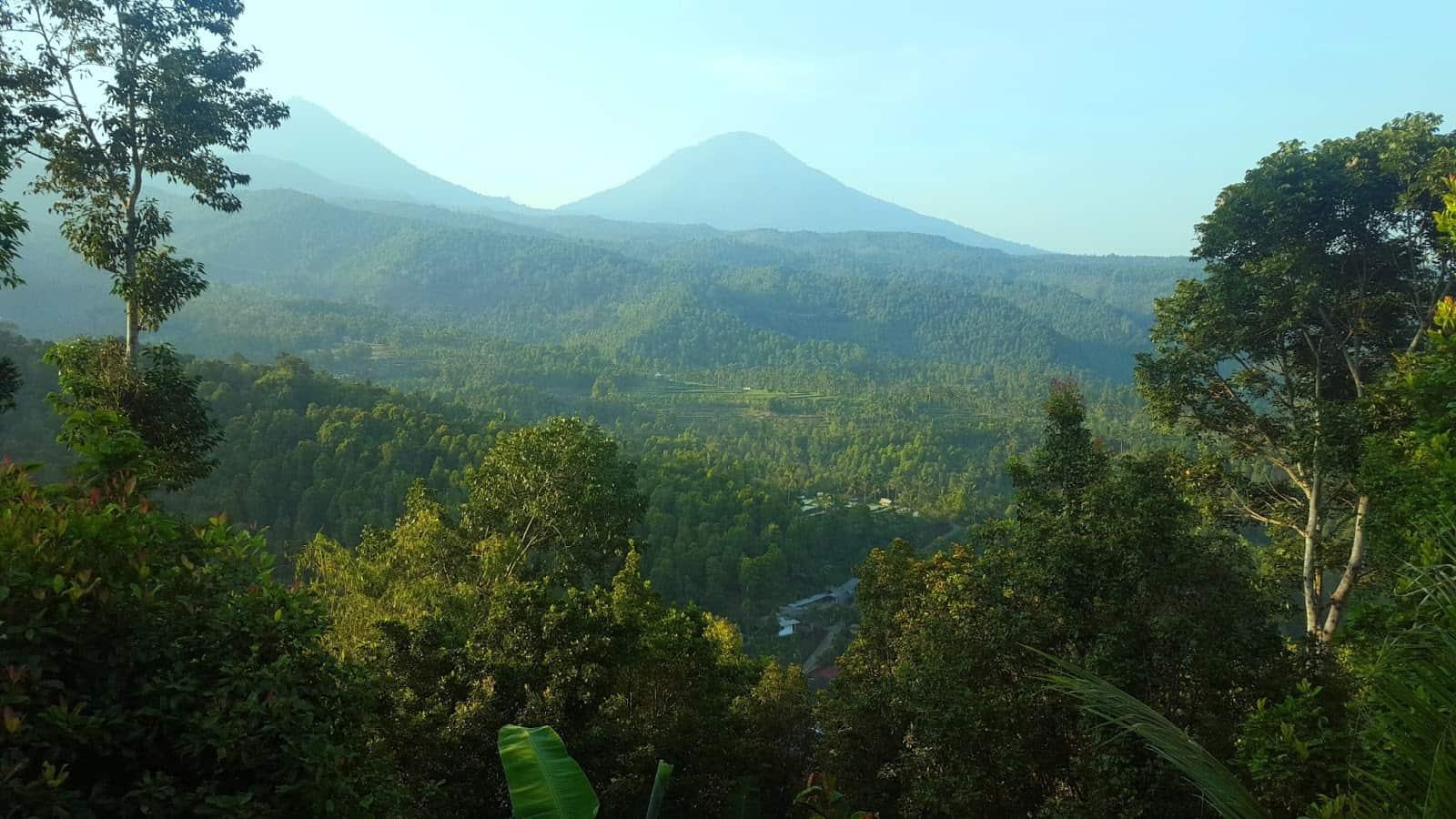 hotel Bali Munduk vue